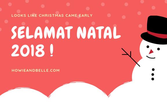 25 Kata Kata Bijak, Caption dan Ucapan Selamat Natal 2018 untuk IG, FB dan Twitter (Bonus Template)